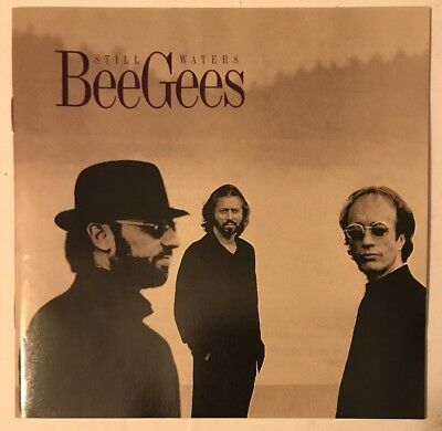 Bee Gees Still Waters Cd Polydor 1997 Usa Press Near Mint