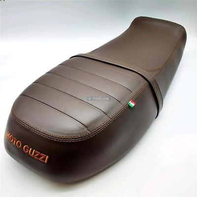 Sella Brown Premium 2S000922 Specifica Per Moto Guzzi V7 Iii 750 Marrone