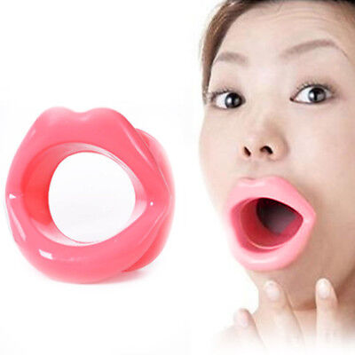 Oral Exercise Lip Trainer Silicone Anti-Wrinkle Anti-Aging Face Slimmer gfdfdd