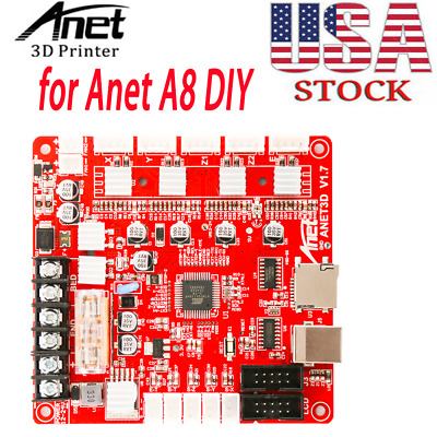 Anet A1284-Base V1.7 Control Board Mother Board Mainboard for Anet A8 DIY M0E3