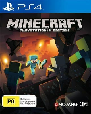 Minecraft PS4 Playstation 4 Brand New Sealed