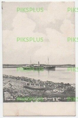Scottish Island Postcard St Kilda Ship Ss Hebrides North Uist Used Colonsay 1908