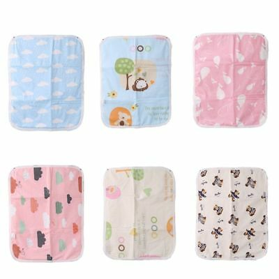 New Cartoon Baby Stroller Waterproof Cushion Bed Cover Diaper Pad Absorption Mat