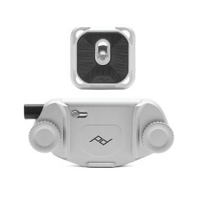 Peak design CP-S-3 Silver Capture Camera Clip v3 con Piastra Arca Swiss Treppied