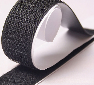 new Double-sided Strong Self Adhesive Hook and Loop Tape Back Sticky  Fastener