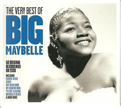 The Very Best Of Big Maybelle - 2 Cd Box Set - Candy, My Country Man & More