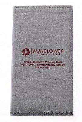 Jewelry Polishing Cloth 100% Cotton shines and protects gold, silver-Non Toxic