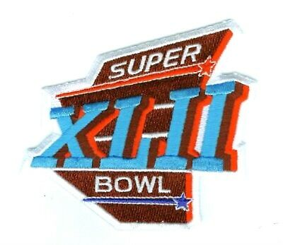 4a4d4632a SUPER BOWL XLII SUPERBOWL SB 42 JERSEY iron-on PATCH NY GIANTS SB 42 PATCH