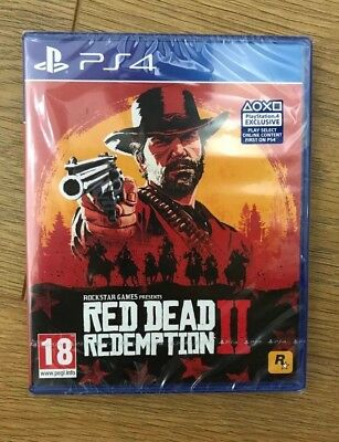 Red Dead Redemption 2 inc DLC [PS4] (NEW & SEALED)