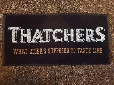 Thatchers Cider Bar Towel - New & Unused Bar Home Collectable
