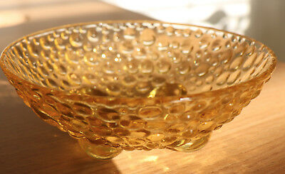 Small Glass Bowl, Bubble Surface