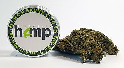 Cannabis CBD Lemon Skunk TRINACRIA HEMP