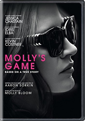 Mollys Game DVD NEW
