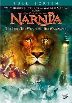 The Chronicles of Narnia: The Lion, Witch, Wardrobe (DVD, Full Screen) NEW