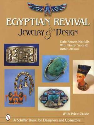 Vintage Egyptian Revival Jewelry & Collectibles Reference Guide c1920s Era