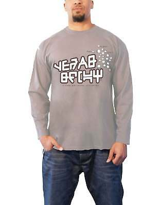 Guardians of the Galaxy T Shirt Star Lord Official Mens New Grey Long Sleeve XL