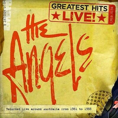 THE ANGELS Greatest Hits Live! CD BRAND NEW Liberation