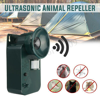 Ultrasonic Garden Cat Dog Fox Battery Operated Pest Repeller Scarer