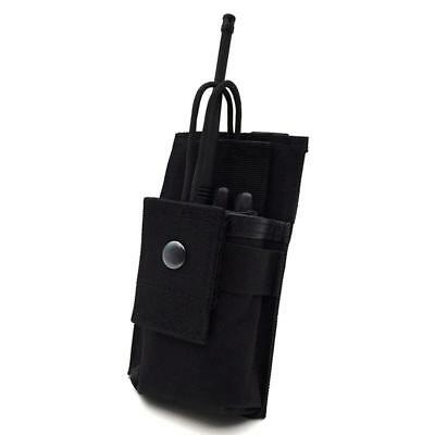 Tactical Radio Case Holder Hunting Airsoft Walkie Talkie Pouch Bag Pocket LC