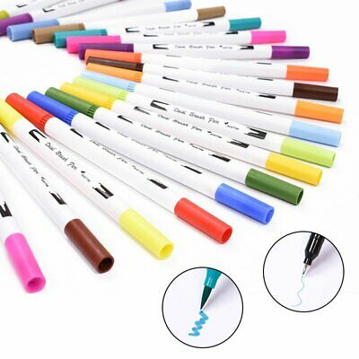 100 80 Marker Stift Farbe Pinsel Finelinerwin Tip Graphic Art Drawing Brush Pen