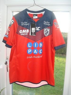 BNWT Medium  Featherstone Rovers Rugby League Shirt ISC