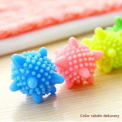Reusable Laundry Washing Machine Dryer Balls Drying Fabric Softener Ball