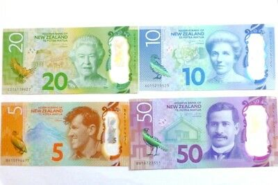 ONE New Zealand Dollar P193 Series 7 Uncirculated Banknote $5 $10 $20 $50 choice