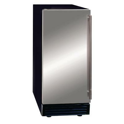 50 Lb. Freestanding Icemaker With Drain Pump In Stainless Steel