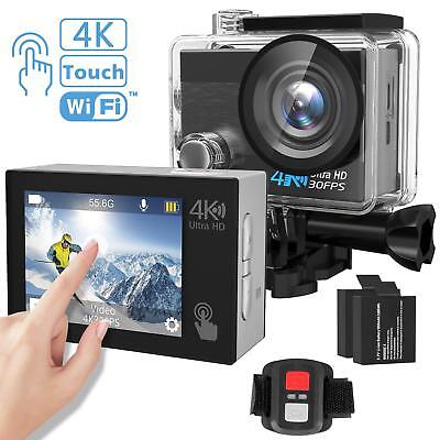 Action Camera, Tintec 4K Touchscreen Sports Dv Ultra Hd Wifi Camcorder/16Mp 170