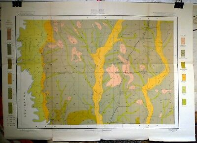 Original 1903 USDA Soil Survey Map for McNeill, Mississippi Pearl River Carriere