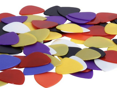 100 Plectrums Picks 0.58 - 0.86 mm Free Delivery