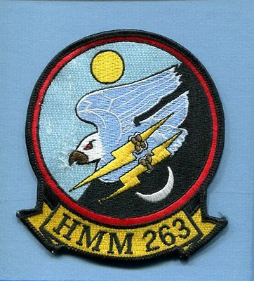 HMM-263 THUNDER CHICKENS USMC MARINE CORPS CH-46 Helicopter Squadron Patch