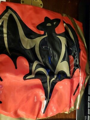Inflatable Bacardi Flying bat collectible new in opened package Promotional Item