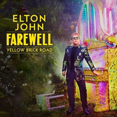 "Elton John Farewell Yellow Brick Road Album Cover   FRIDGE Magnet 3"" x 3"""
