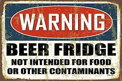 WARNING Beer Fridge   FRIDGE Magnet 2.5 x 3.5