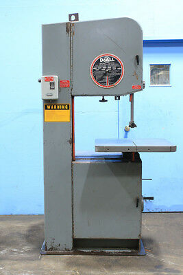 "20"" Thrt 13"" H DoAll 2013-V VERTICAL BAND SAW, Vari-Speed, 3 HP, 1"" Blade"
