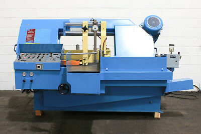 "16"" W 14"" H DoAll C-410-A HORIZONTAL BAND SAW, Auto Shuttle Vise Feed, 10 HP, 1-"