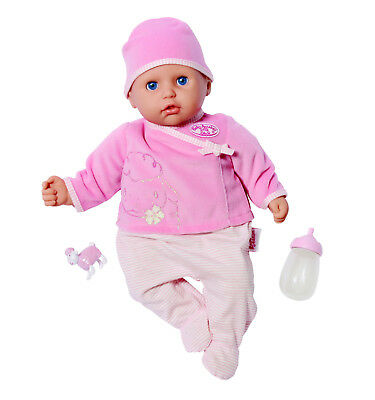 Zapf my first Baby Annabell Let`s play Babypuppe Puppe 36cm + Flasche Neu 792766