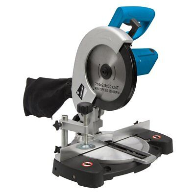 "Mitre Saw with guards 240v Single Bevel with 254m 10"" Sliding Compound Bevel"