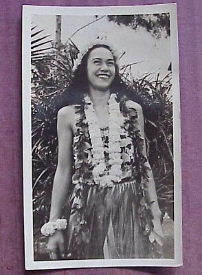 1940's Hula Girl (3) TH Hawaii