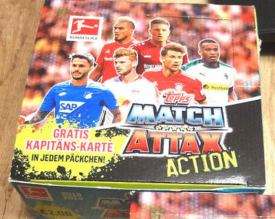 Topps Match Attax Action 18/19 1x Display 20 Booster