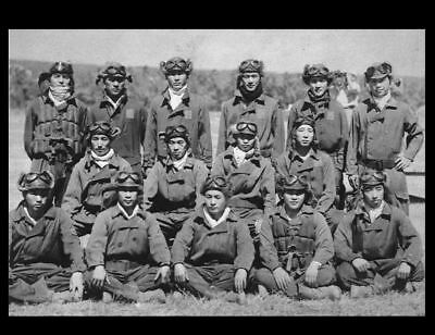 Japanese Fighter Pilots Group PHOTO World War 2, Imperial Navy Tainan Air Group