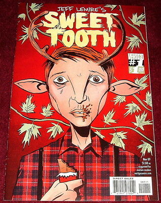 Sweet Tooth Comic..issue #1 Nov 2009..jeff Lemire Out Of The Deep Woods Part One