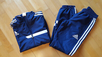 wide range various colors utterly stylish ADIDAS KINDER TRAININGSANZUG Tiro 13 wie neu blau weiß Gr ...