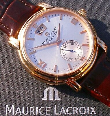 Maurice Lacroix - Masterpiece - GRAND GUICHET in 18K-Massivgold; 8.500,- EUR