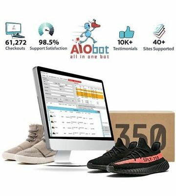 All in one bot (AIO) RETAIL $325 AUTHENTIC WITH RECEIPT ADIDAS YEEZY SUPPLY ECT.