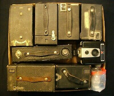 Vintage Eastman Kodak BROWNIE cameras etc. LOT OF 6