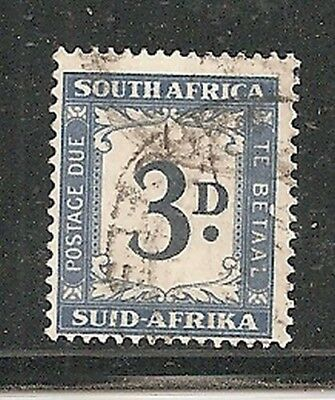 Album Treasures South Africa Scott # J15 3p Postage Due F-VF Used CDS