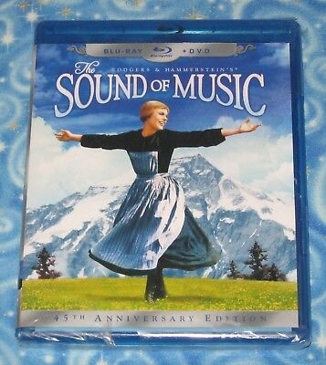 Sealed The Sound of Music Blu Ray and DVD Set with Case Brand New USA