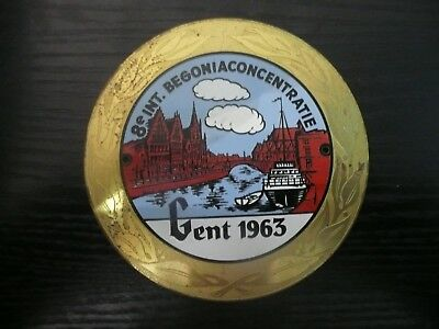 CONCENTRATION MOTO -  8 e INT. BEGONIACONCENTRATIE - GENT 1963